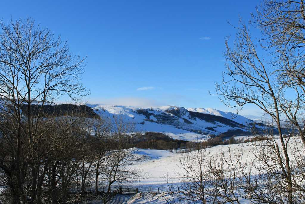 Perthshire Landscape in Winter