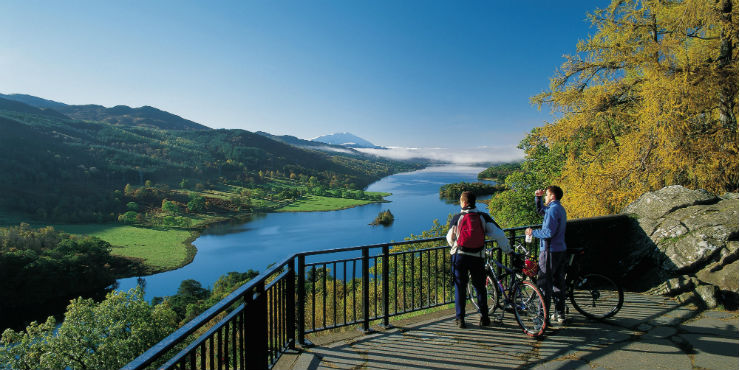 Cycle Perthshire for Spring
