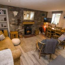 Small image of Hollyhock Cottage, Birnam, Dunkeld holiday cottage in Sctotland