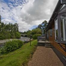 Small image of Otter Lodge, River Tilt Leisure Park holiday cottage in Scotland