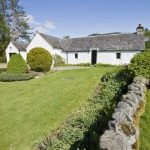 Small image of Upper Balghulan Cottage, Pitlochry holiday cottage in Scotland
