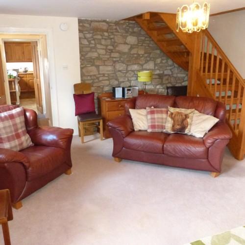 Sitting room in Ard Darach Cottage